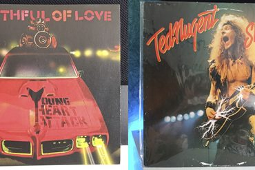 Ted Nugent State Of Shock Young Heart Attack Mouthful Of Love disco