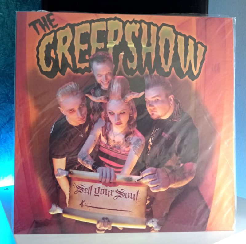 The Creepshow Sell Your Soul disco