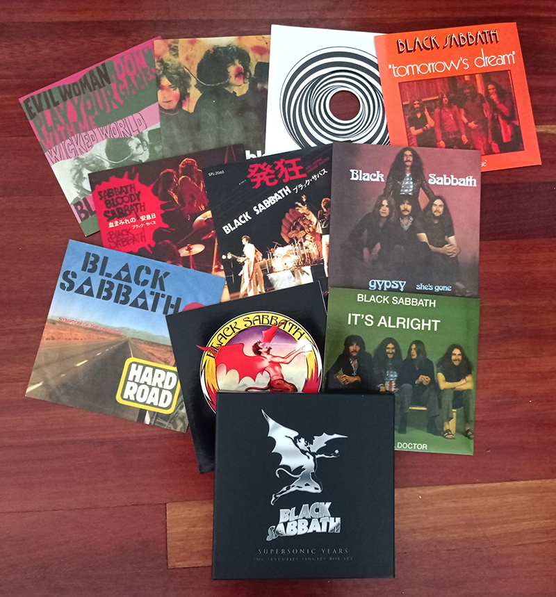 Black Sabbath Supersonic Years The Seventies Singles Box Set