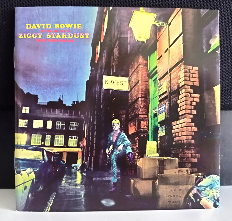 David Bowie The Rise And Fall Of Ziggy Stardust And The Spiders From Mars disco