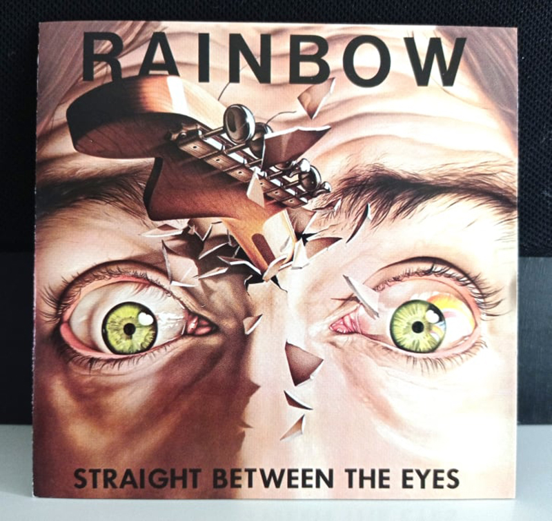 Rainbow Straight Between The Eyes disco