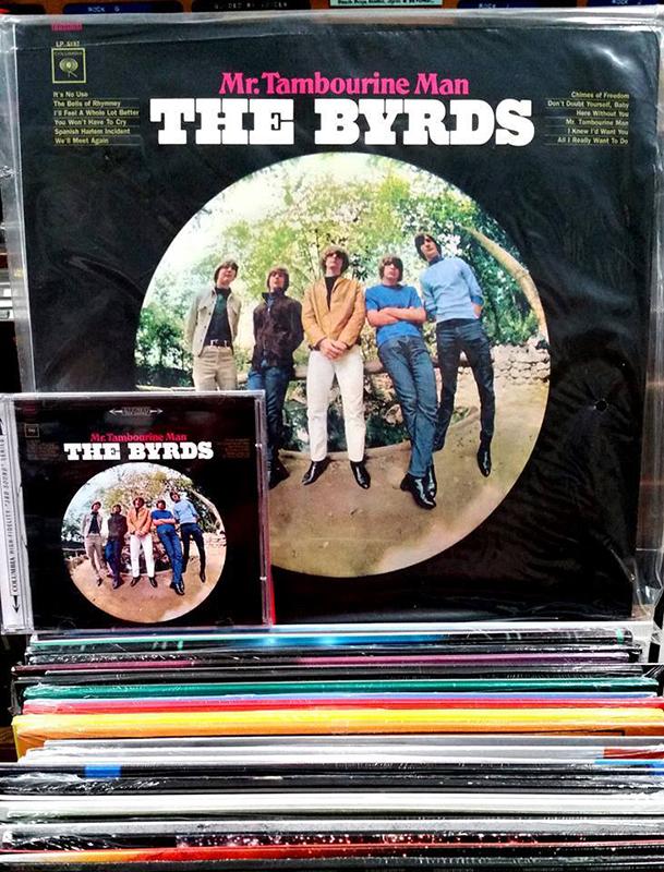 The Byrds Mr. Tambourine Man aniversario disco