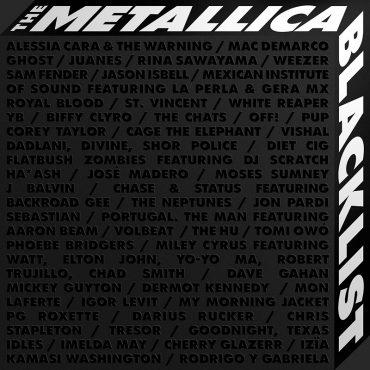 The Metallica Blacklist disco tributo y reedición del Black Album de Metallica
