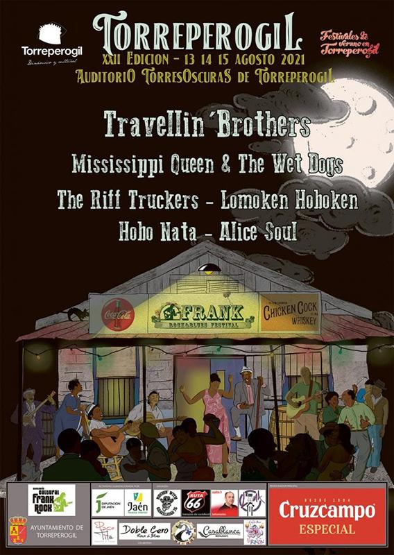 Frank Rock & Blues Festival en agosto