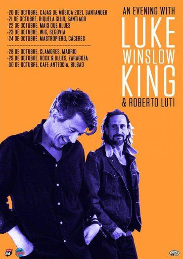 Gira en otoño de Luke Winslow-King An Evening with Luke Winslow-King and Roberto Luti 2021