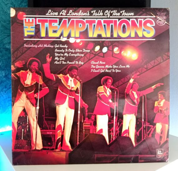 The Temptations Live at London's Talk of the Town