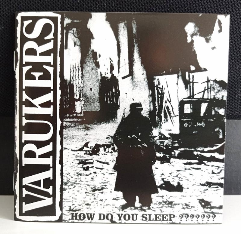 Varukers how do you sleep disco