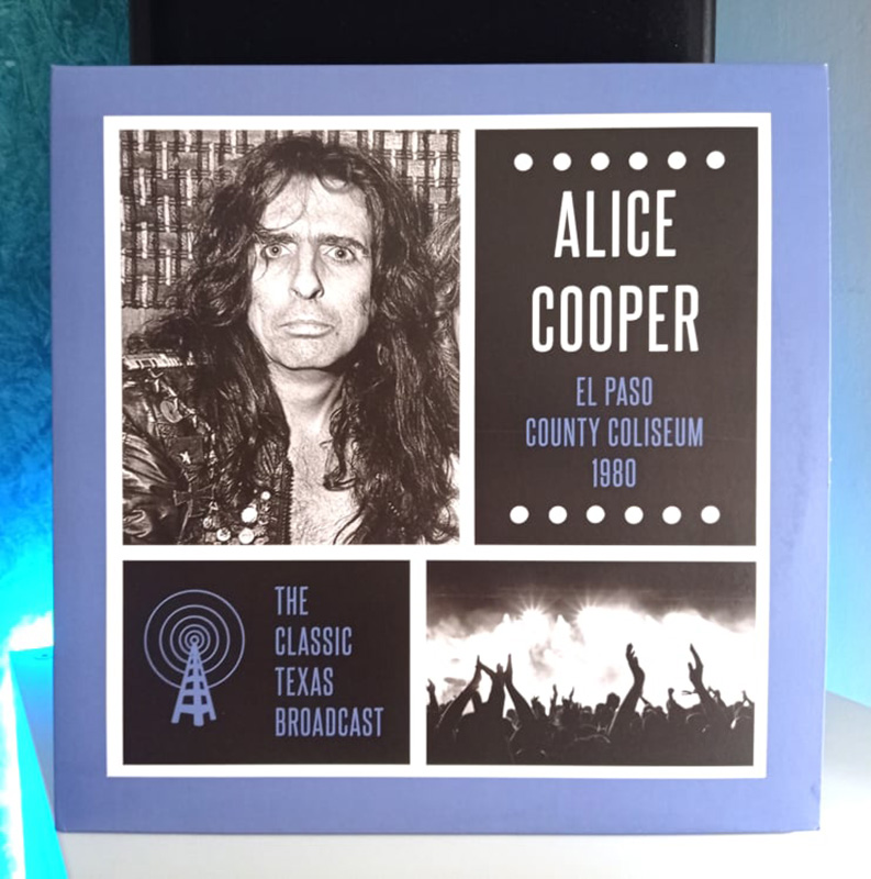Alice Cooper El Paso County colliseum disco