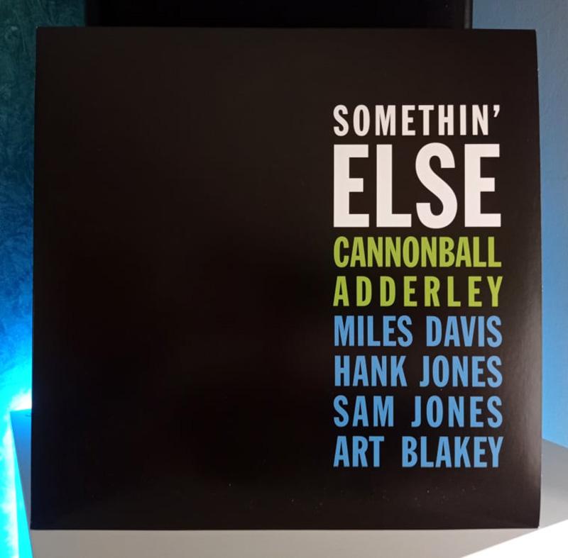 Cannonball Adderley Somethin' Else disco