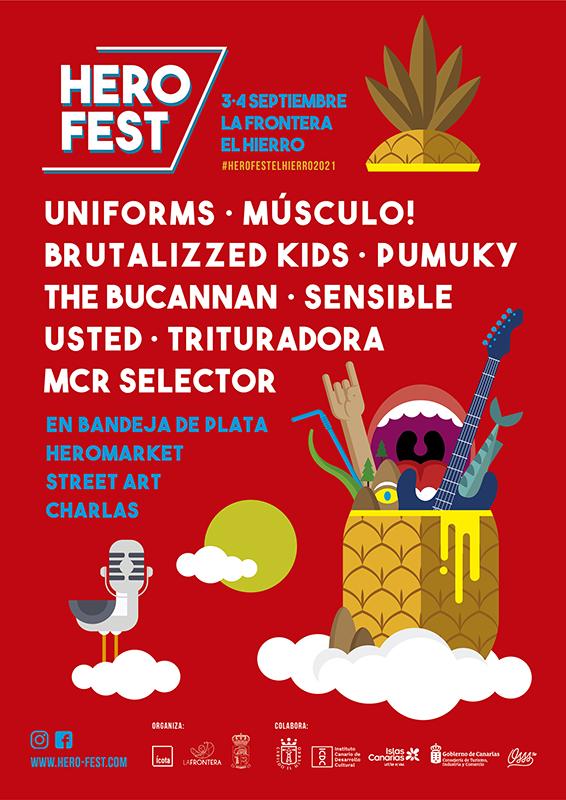 Festival Hero Fest en septiembre en El Hierro 2021