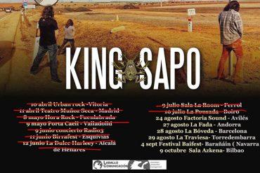 King Sapo gira 2021