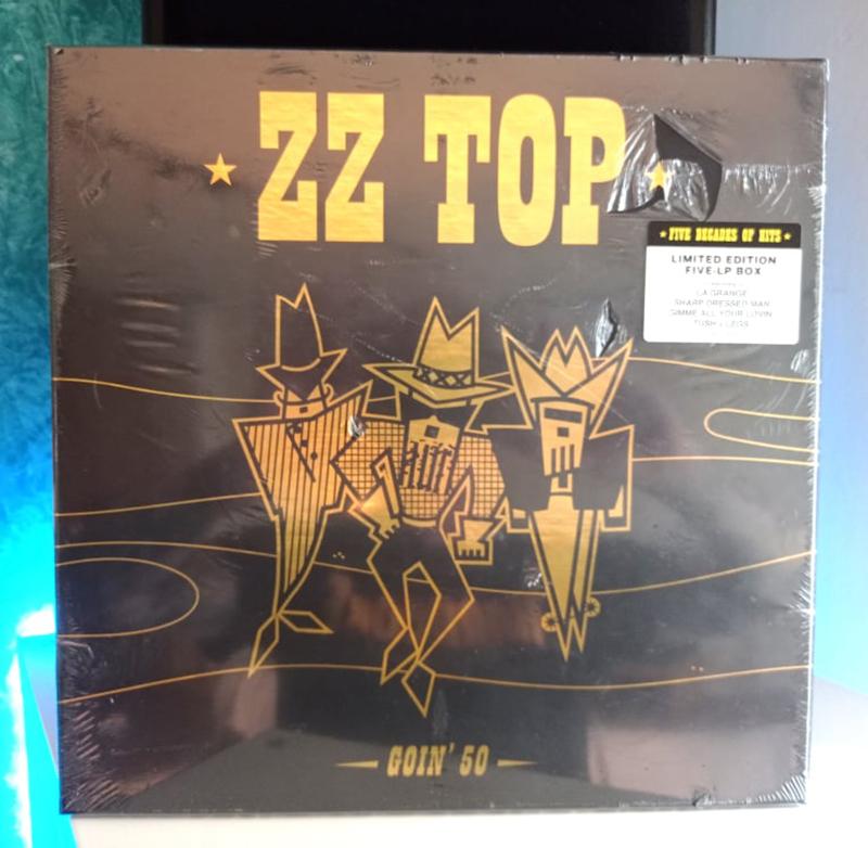 ZZ Top Goin' 50 disco