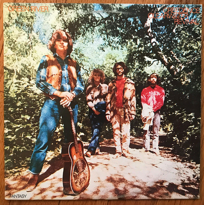 creedence clearwater revival green river disco aniversario fantasy records