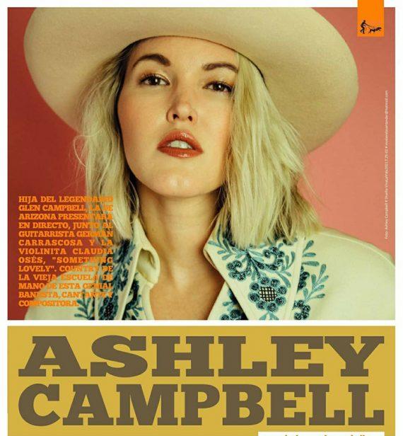 Ashley Campbell nos visita en septiembre
