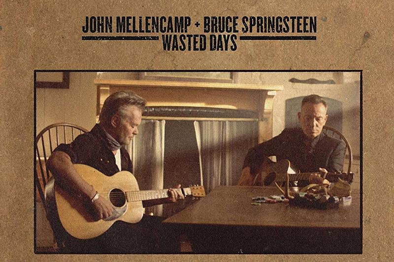 John Mellencamp y Bruce Springsteen lanzan la canción Wasted Days
