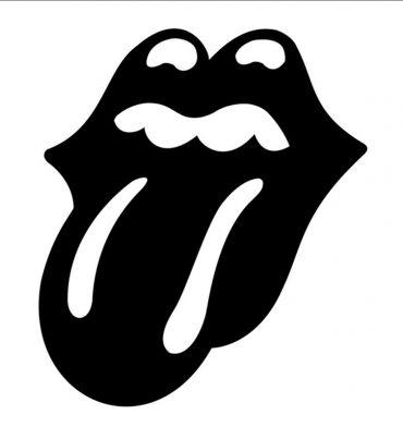 Lengua negra de los Stones como homenaje a Charlie Watts en su gira Norteamericana No Filter