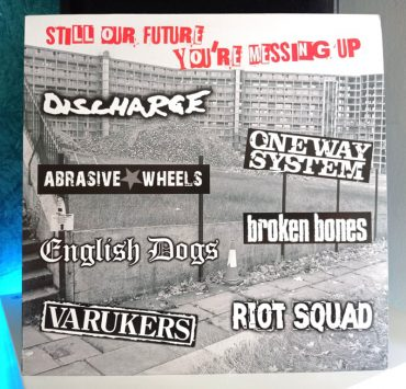 Still Our Future You're Messing Up disco varios punk