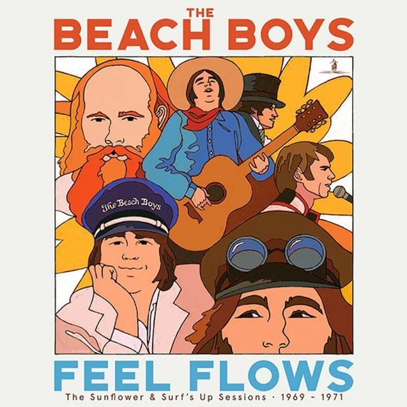 The Beach Boys publican Feel Flow -The Sunflower & Surf's Up Sessions 1969-1971