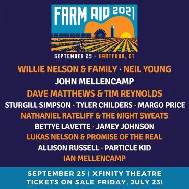 Un Farm Aid 2021 sin Neil Young