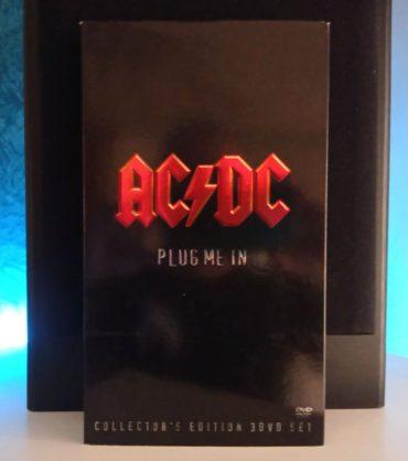 ACDC Plug me in disco box set caja