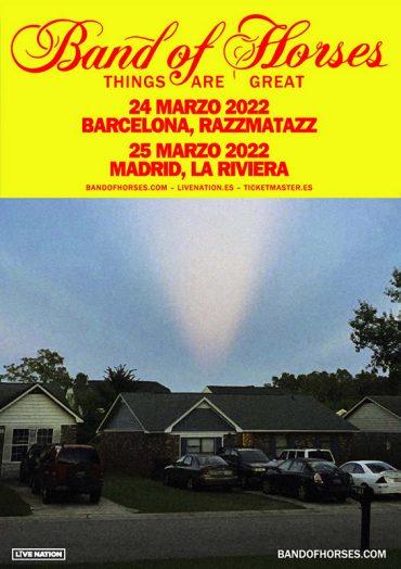 Band of Horses presentan Things Are Great en Barcelona y Madrid