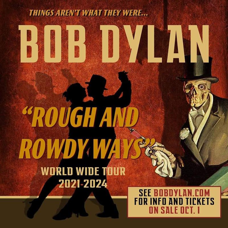 Bob Dylan vuelve a la carretera hasta 2024