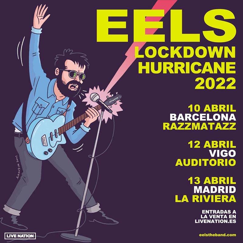 Gira Eels Extreme Witchcraft España 2022