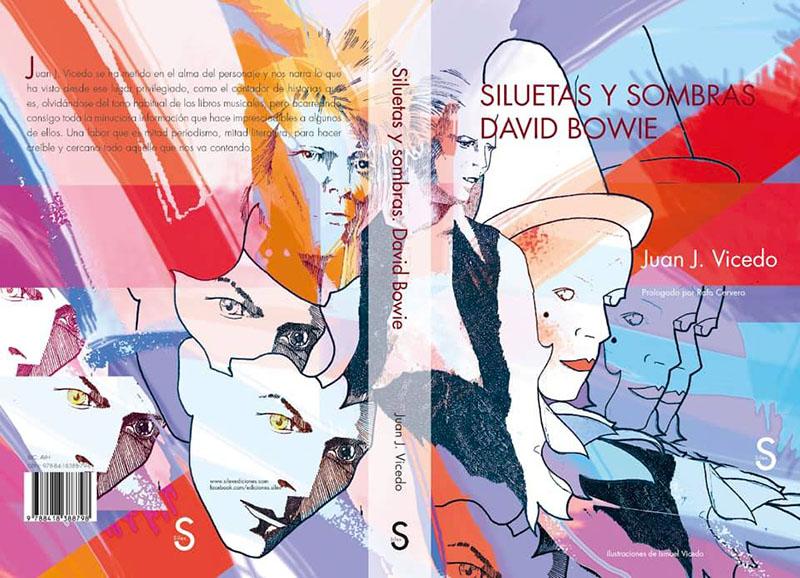 Siluetas y sombras. David Bowie libro Juan J Vicedo