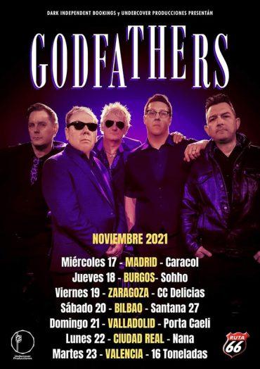 The Godfathers de gira este noviembre 2021