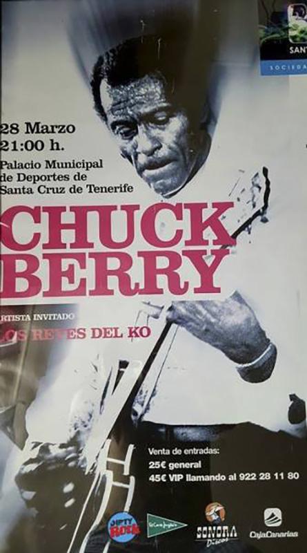 Chuck-Berry-en-Tenerife-2008-poster