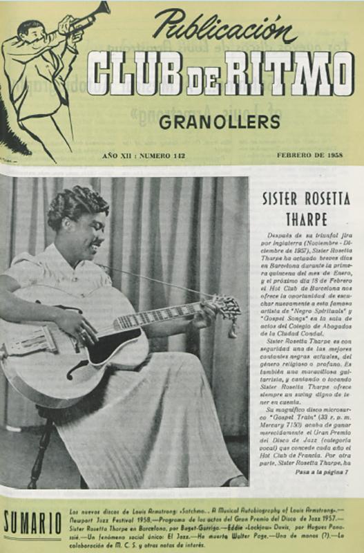 Josep-Pedro-Blues-en-Espana-Sister-Rosetta
