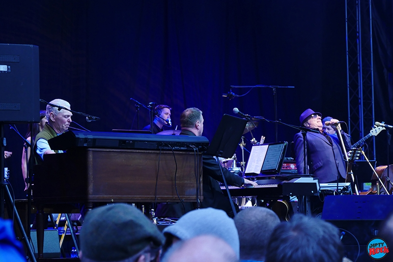 Van Morrison y Georgie Fame Music Legends Festival Bilbao.