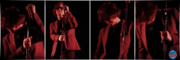 Mark Lanegan y Duke Garwood en Madrid en Madrid. Foto realizada en 2013.